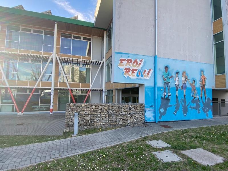 Foto murales Eroi Reali